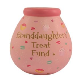 Granddaughter's Treat Fund Pot of Dreams